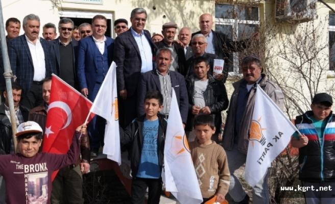 """Recep Konuk: """"Türkiye'nin Koşar Adım Büyümesi İçin Milletimiz 'Evet' Diyor"""""""