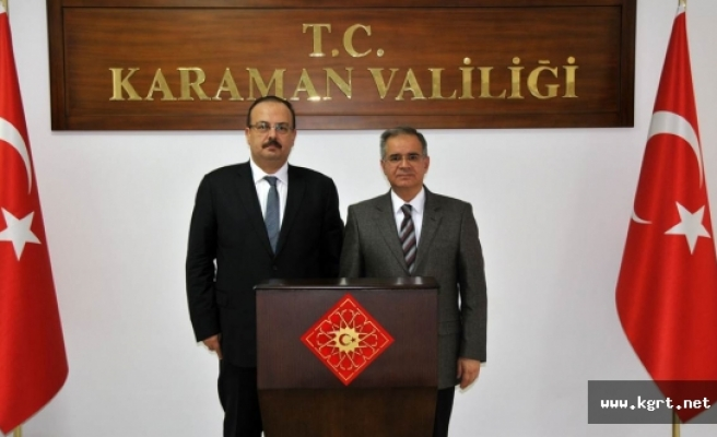 Vali Canbolat'tan Vali Tapsız'a Ziyaret