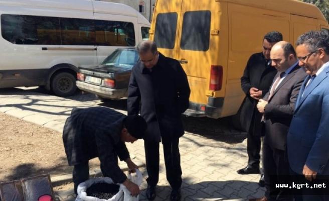 Vali Tapsız'ın Esnaf Ziyaretleri Sürüyor
