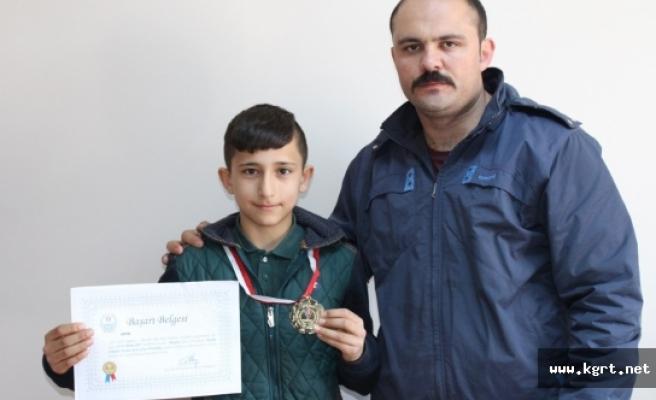 Enes Yeşil Türkiye Şampiyonasına Gitmeye Hak Kazandı