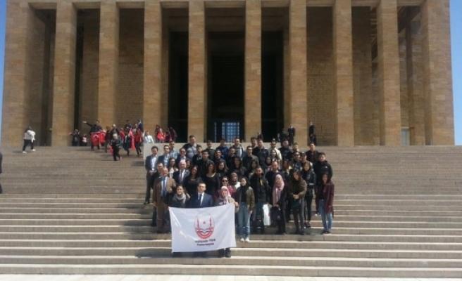 Hollanda Türk Federasyonu Öğrencilerinden KARYAD'a Ziyaret