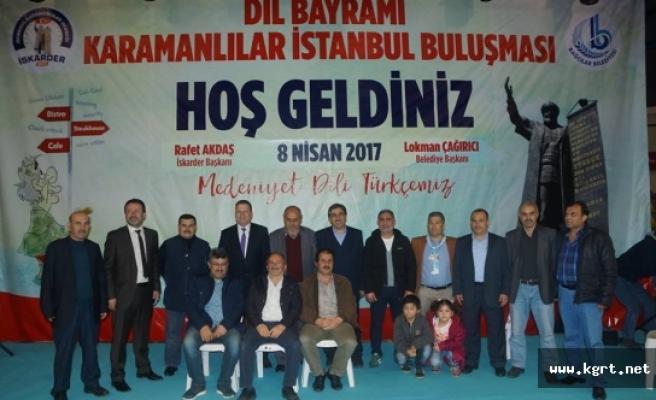 İstanbul'da Türk Dil Bayramı Kutlandı