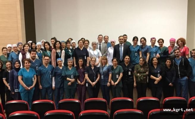 Karaman Devlet Hastanesi Sağlık Bakım Hizmetlerinde Mesleki Branşlaşma Tamamlanıyor