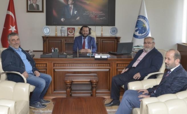 Konya Eski Milletvekili Üzülmez'den Rektör Akgül'e Ziyaret