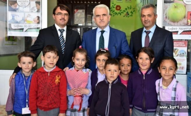 Kuntoğlu'nun Okul Ve Yurt Ziyaretleri Devam Ediyor