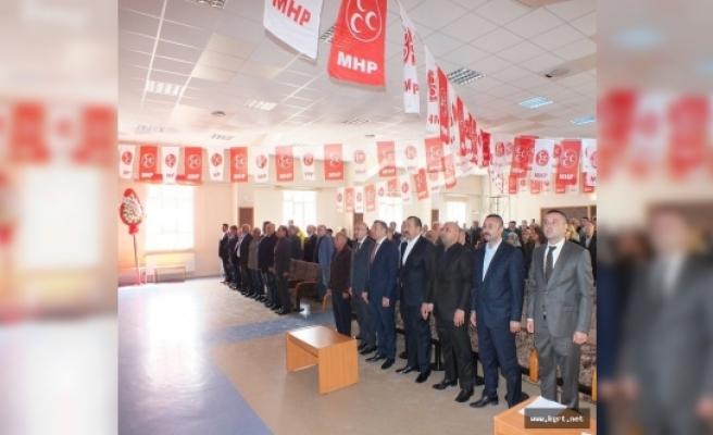 MHP Karaman Merkez İlçe Kongresi Başladı