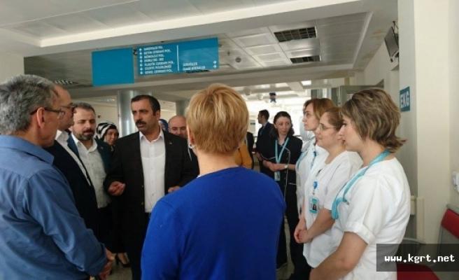Sağlık-Sen Genel Başkanı Metin Memiş Karaman'daydı