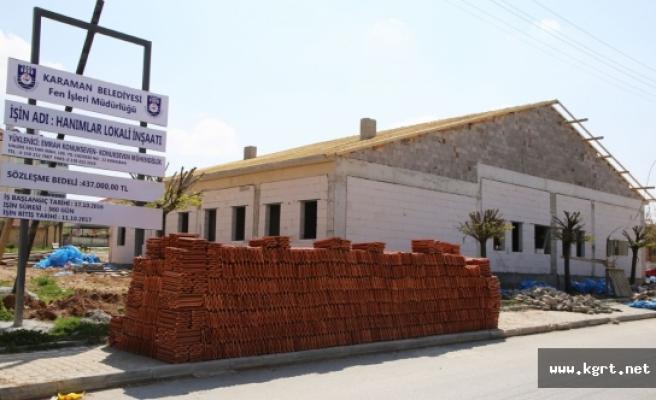 Yeni Hanımlar Spor Ve Kültür Merkezi Osmangazi Mahallesi'nde Yükseliyor