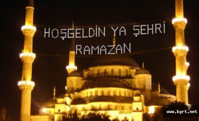 11 Ayın Sultanı Ramazan Başlıyor