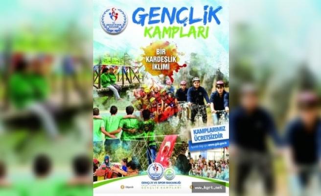 2017 Yaz Gençlik Kampları Başvuruları Başladı