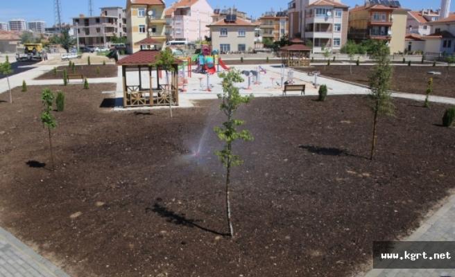 Belediyenin Yaptığı Yeni Park Alanları Hizmete Girdi