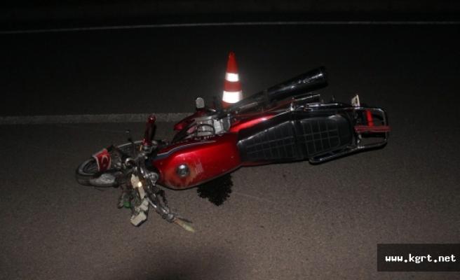 Karaman'da Motosiklet Kazası: 3 Yaralı