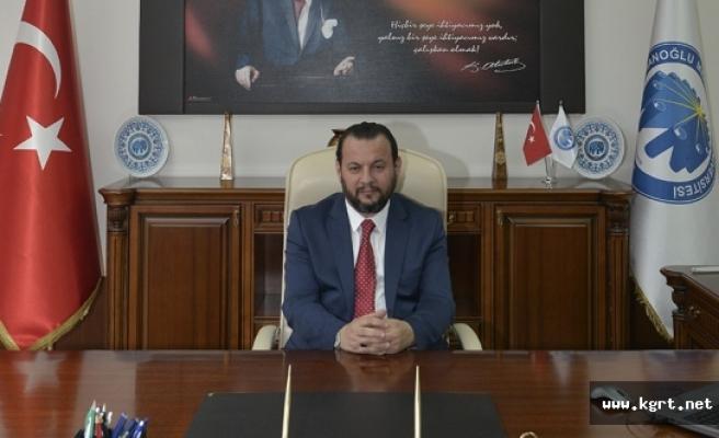 KMÜ Rektörü Prof. Dr. Akgül'ün 12 Mayıs Hemşireler Günü Mesajı