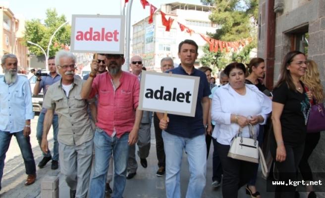 """CHP, Karaman'da Da """"Adalet"""" İstedi"""