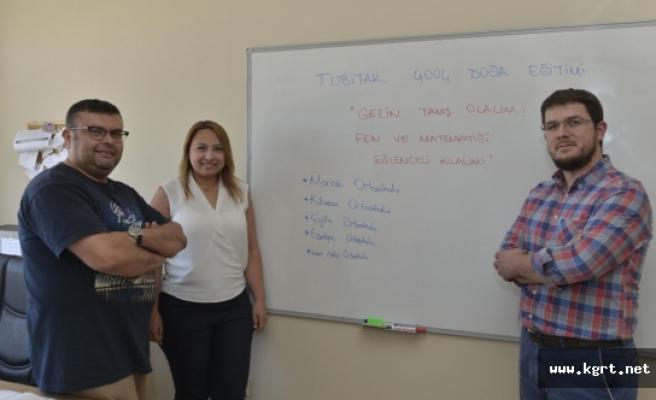 KMÜ Öğretim Üyelerinden Eğlenceli Fen Ve Matematik Projesi
