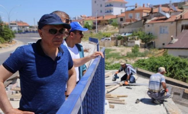 Alparslan Türkeş Bulvarı'nda Son Düzenlemeler Yapılıyor