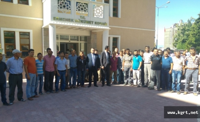 Ermenek'te Grev Yapan Madencilerin 3 Aylık Maaşları Ödendi