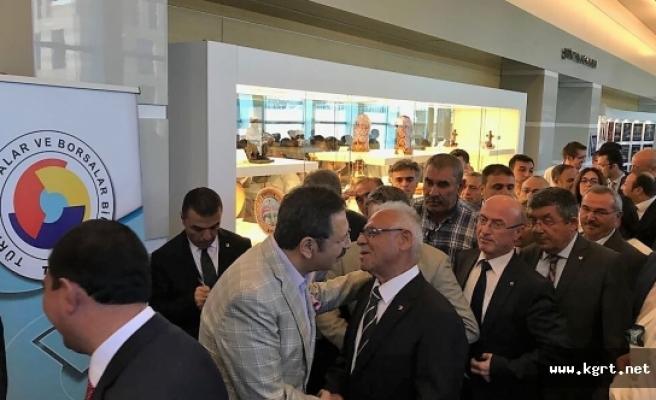 Karaman Ticaret Borsası İç Anadolu Bölgesi İstişare Toplantısına Katıldı
