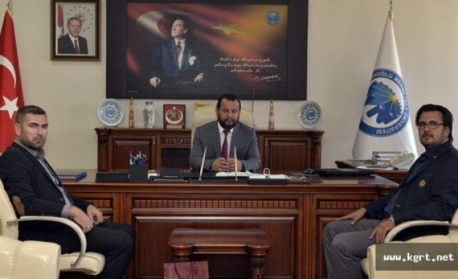 KMÜ Rektörü Akgül'e TÜMSİAD Yönetim Kurulu Üyelerinden Ziyaret