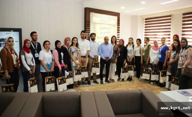 Türkçe'nin Gönül Elçilerinden Başkan Çalışkan'a Ziyaret