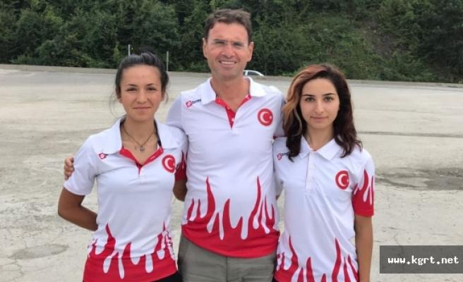 Karamanlı Sporcu Azize Bekar'dan Çifte Zafer