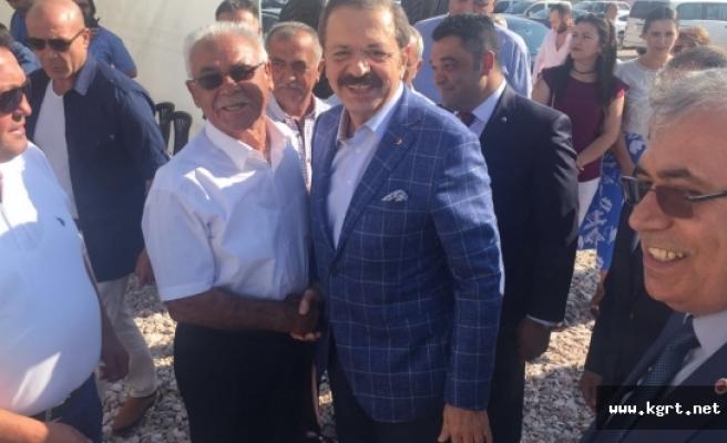 Ticaret Borsası Niğde Ve Aksaray'da Ödül Töreni Açılışa Katıldı