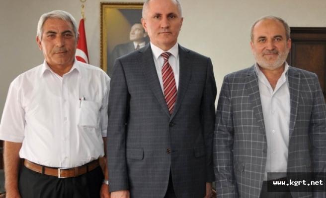 İstanbul Karamanlılar Derneği Başkanından Vali Meral'e Ziyaret