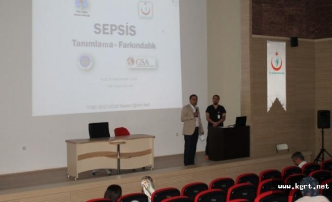 Karaman'da Dünya Sepsis Günü Farkındalık Eğitimi Verildi