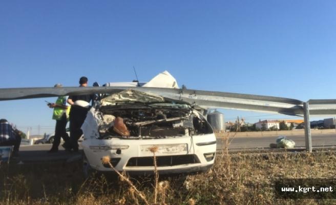 Karaman'da 4 Kişilik Aile Ölümden Döndü