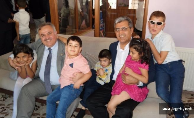 Recep Konuk Karaman'da Bayramlaşma Programına Katıldı