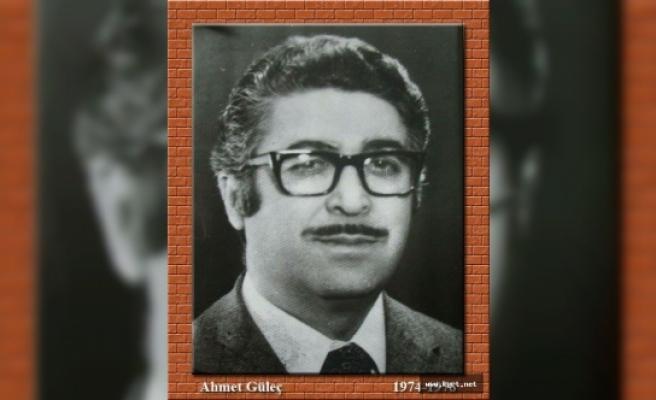 Karaman Lisesi Eski Müdürü Ahmet Güleç Vefat Etti