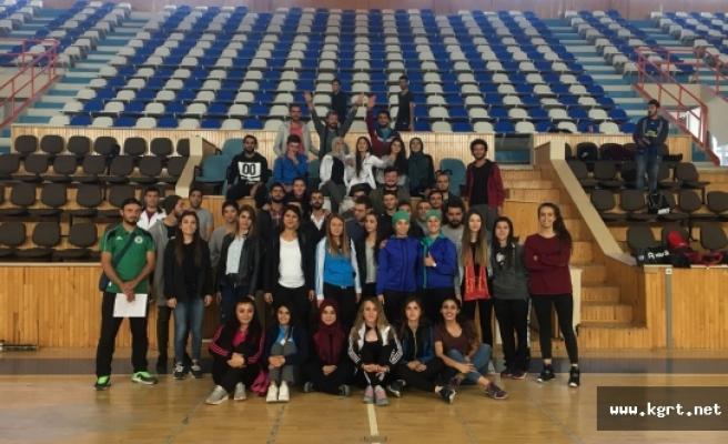 Karaman'da Basketbol Aday Hakem Kursu Tamamlandı