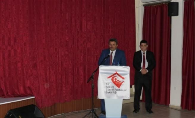 Umut Evleri Bilgi Toplantısı Ermenek'te Gerçekleştirildi