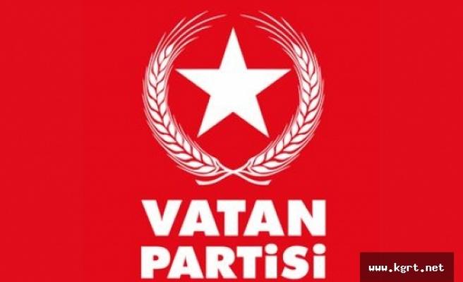 Vatan Partisi'nden Basın Açıklaması
