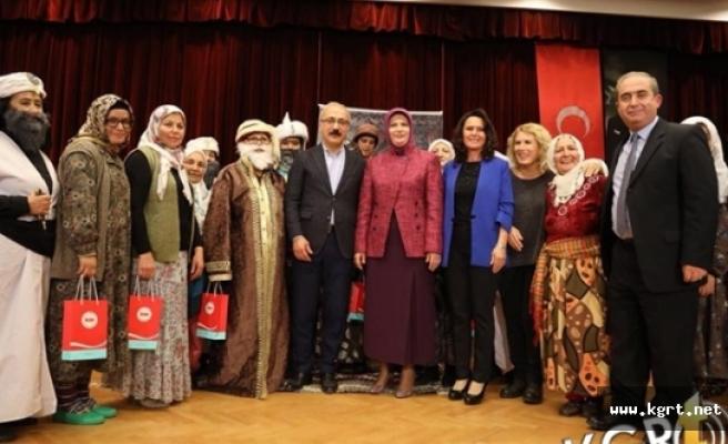 Ermenek Belediyesi Kadın Meclisi Tiyatro Grubunun Oyunu Beğenildi