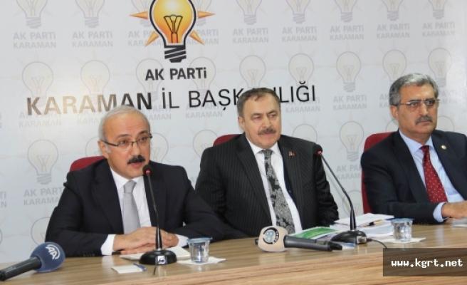 """Kalkınma Bakanı Elvan: """"Milletin Seçtiği Cumhurbaşkanımızı Hazmedemiyorlar"""""""
