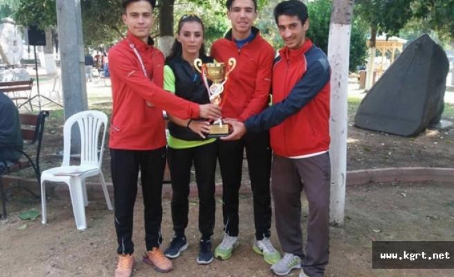 Karaman Atletizm Takımı Hatay'da Final Biletini Kaptı