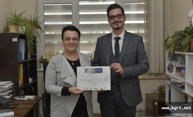 KMÜ Öğrencisi Demircioğlu'na Kimya ARGE Proje Pazarından Davet