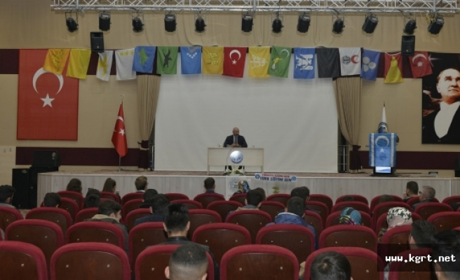 KMÜ'de 'Kardak Krizi Ve Ege Adaları Sorunu' Konuşuldu