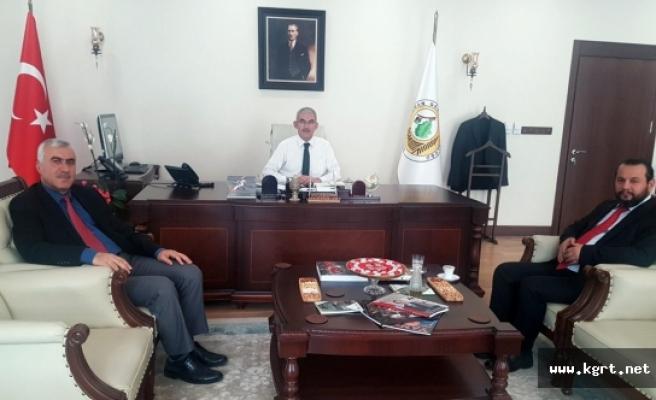 Rektör Akgül'den Orman Genel Müdürüne Ziyaret