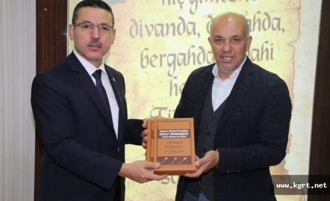 Sayıştay Başkanı Seyit Ahmet Baş'dan Başkan Çalışkan'a Ziyaret