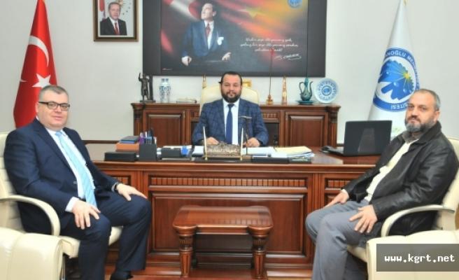 Göç İdaresi Genel Müdür Yardımcısından Rektör Akgül'e Ziyaret