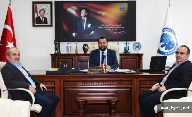 İSKARDER'den Rektör Akgül'e Ziyaret
