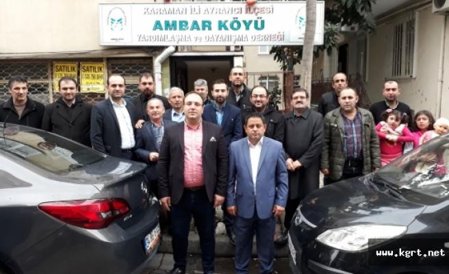 İstanbul'daki Ambarlılar Kahvaltıda Bir Araya Geldi