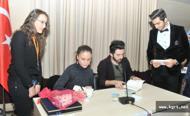 KMÜ Öğrencileri Yazarlarla Buluştu