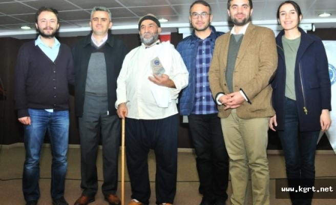 Meddah Muhiddin Gültekin, KMÜ Öğrencileriyle Buluştu