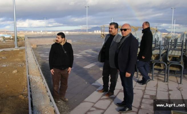 """Başkan Çalışkan: """"Türk Dünyası Kültür Parkı Geleceğe Bırakılacak Güzel Bir Eser Olacak"""""""