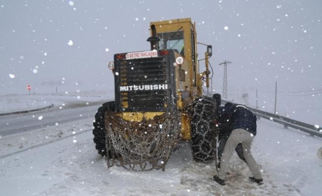 Kar Yağışı Etkisini Bugünde Sürdürecek