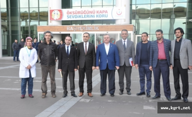 Karaman Devlet Hastanesinde Doktorlarla İstişare Toplantısı Yapıldı