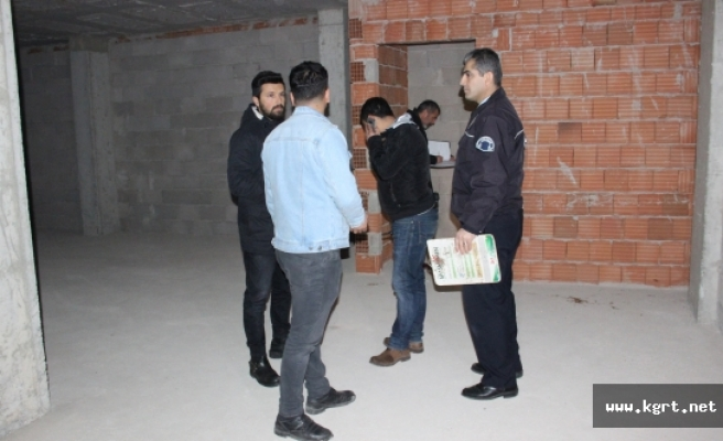 Karaman'da Girdikleri İnşaatta Uyuşturucu Alan İki Kişiden Birinin Durumu Ağır